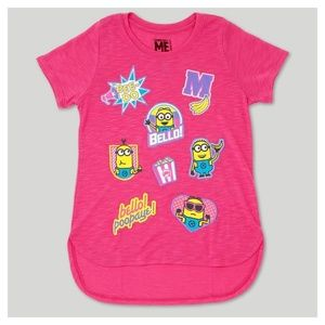 Girls' Despicable Me Minions Short Sleeve T-Shirt